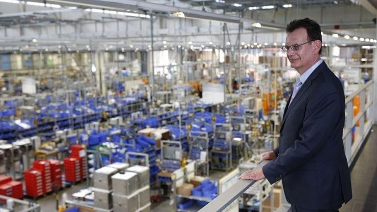 MEIKO Maschinenbau: Produktionshalle