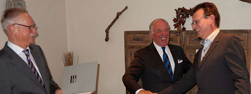 Siegfried Lettmann übernimmt Studienleitung an der European Business School EBS