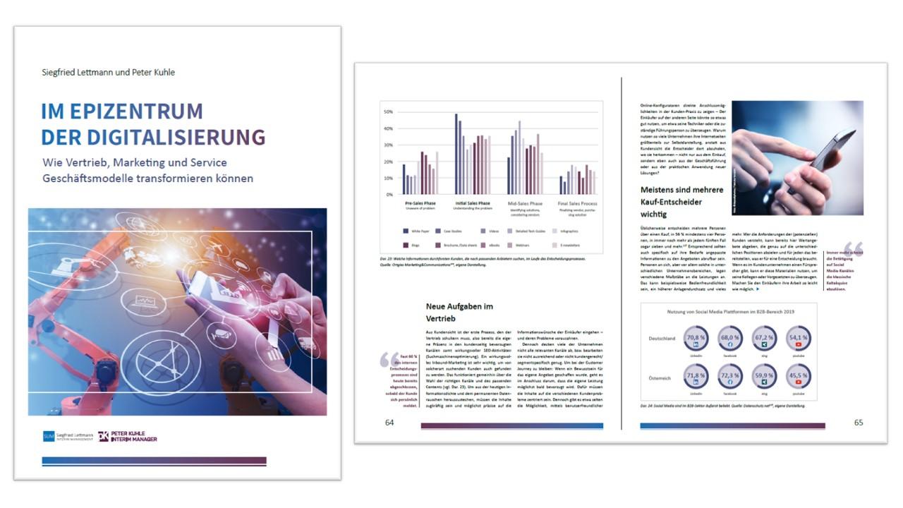 Im Epizentrum der Digitalisierung: Wie Vertrieb, Marketing und Service Geschäftsmodelle transformieren können