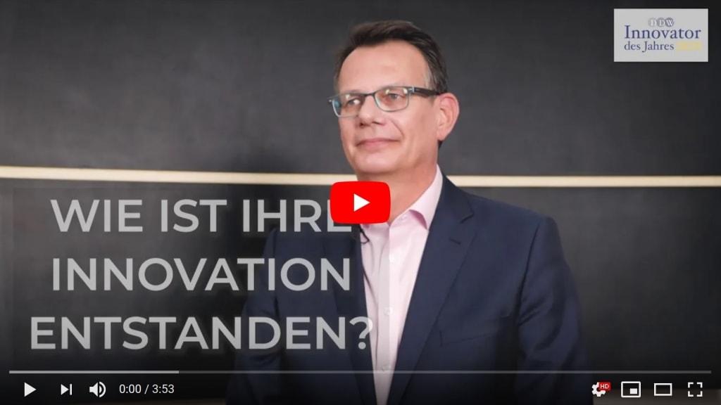 Video Interview Innovator des Jahres 2020: Interim Manager Siegfried Lettmann