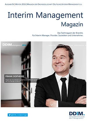 Inteirm Management Magazin Siegfried Lettmann